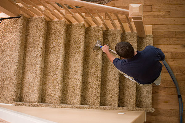 Kansas City Carpet Cleaning Services - Stairs